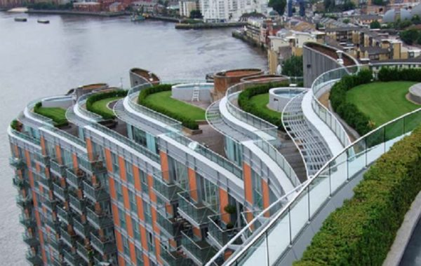 New Providence Wharf, London