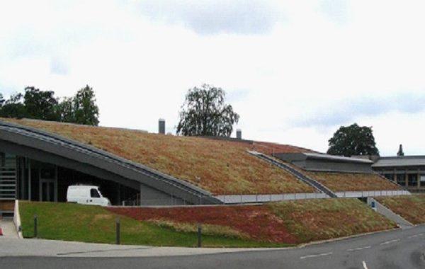 Подземный гараж Института Сенгера и Cairns Павильон