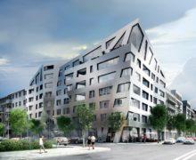 «Дышащие» фасады и используемая кровля комплекса «Сапфир» в Берлине