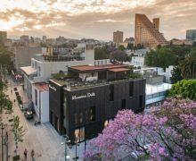 Тенденции архитектуры: эксплуатируемая кровля магазина Massimo Dutti в Мехико