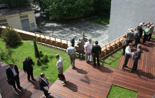 Кровля здания Союза Московских Архитекторов, г. Москва