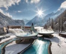 Создание газона на крыше парковки в австрийских горах