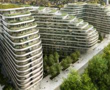 Озеленение крыш и террас комплекса Vista в Лондоне