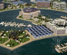 Скоро понадобится озеленение крыш зданий плавучих городов