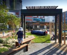 Детский сад на крыше торгового центра — для счастливого детства