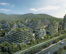 Сад на крыше — только начало! В Китае строят целый Зеленый город