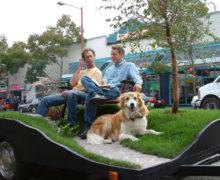 Необычные варианты зеленой крыши: мобильный парк в Сиэтле