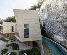 Интенсивное озеленение крыш жилого комплекса в Австрии