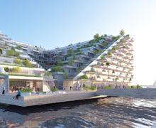 Проект-победитель: озеленение крыш, террас и пристань внутри дома