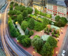 Парк с крытым кафе на крыше: легендарный опыт Бостона!
