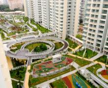 Сады на кровле многоэтажного паркинга — это реальность!