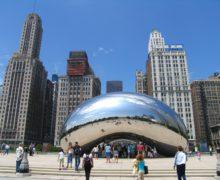 Миллениум-парк в Чикаго — это эксплуатируемая крыша площадью 100 000 кв. м!