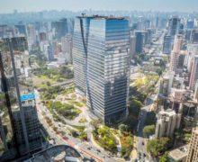 Эффектный ландшафт на кровле в бразильском Сан-Паулу