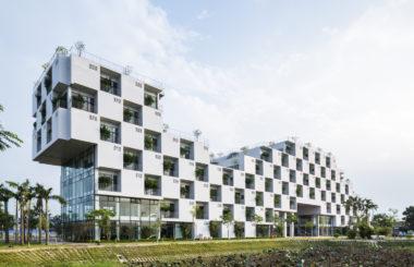 Проектирование кровли и зеленых фасадов студенческого кампуса в Ханое