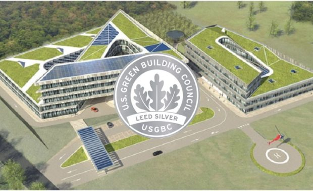 Здание «R&D Ренова» с крышей ZinCo получило сертификат LEED Silver